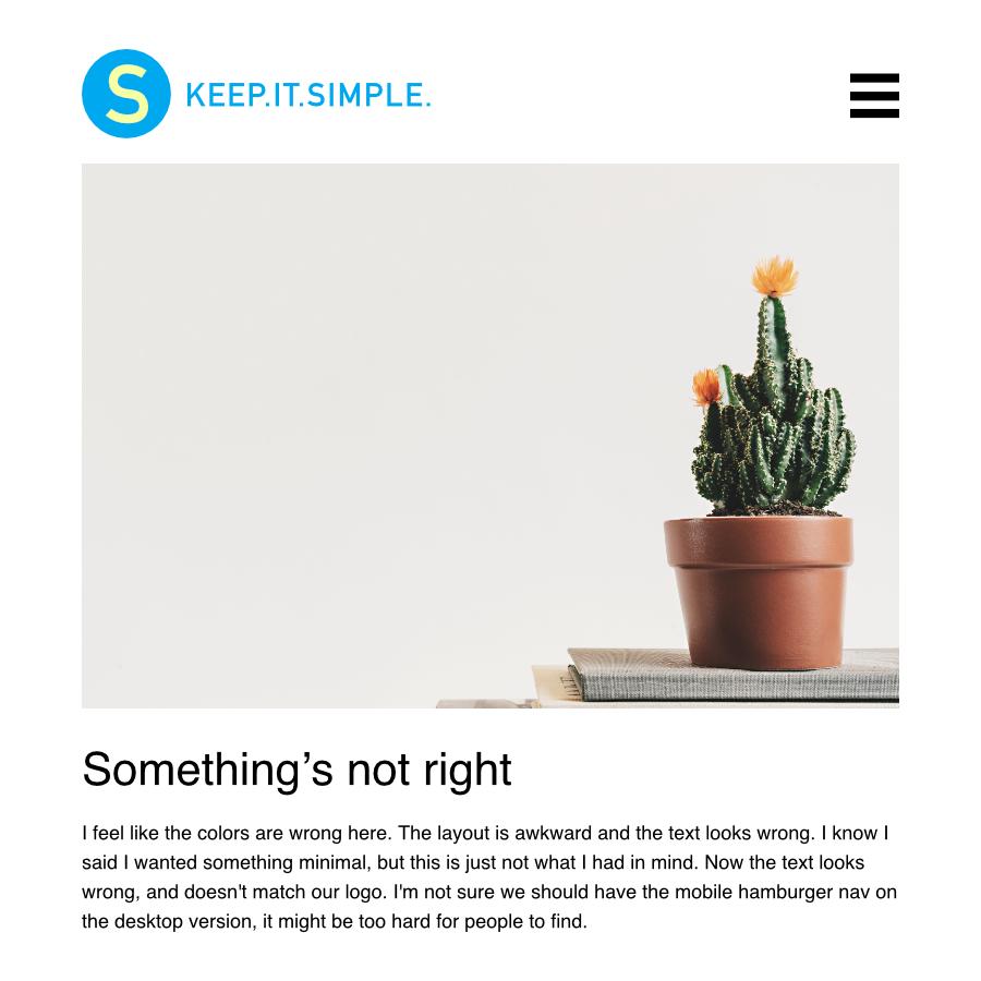 Custom Web Design Why Simple Is So Complex Slabmedia