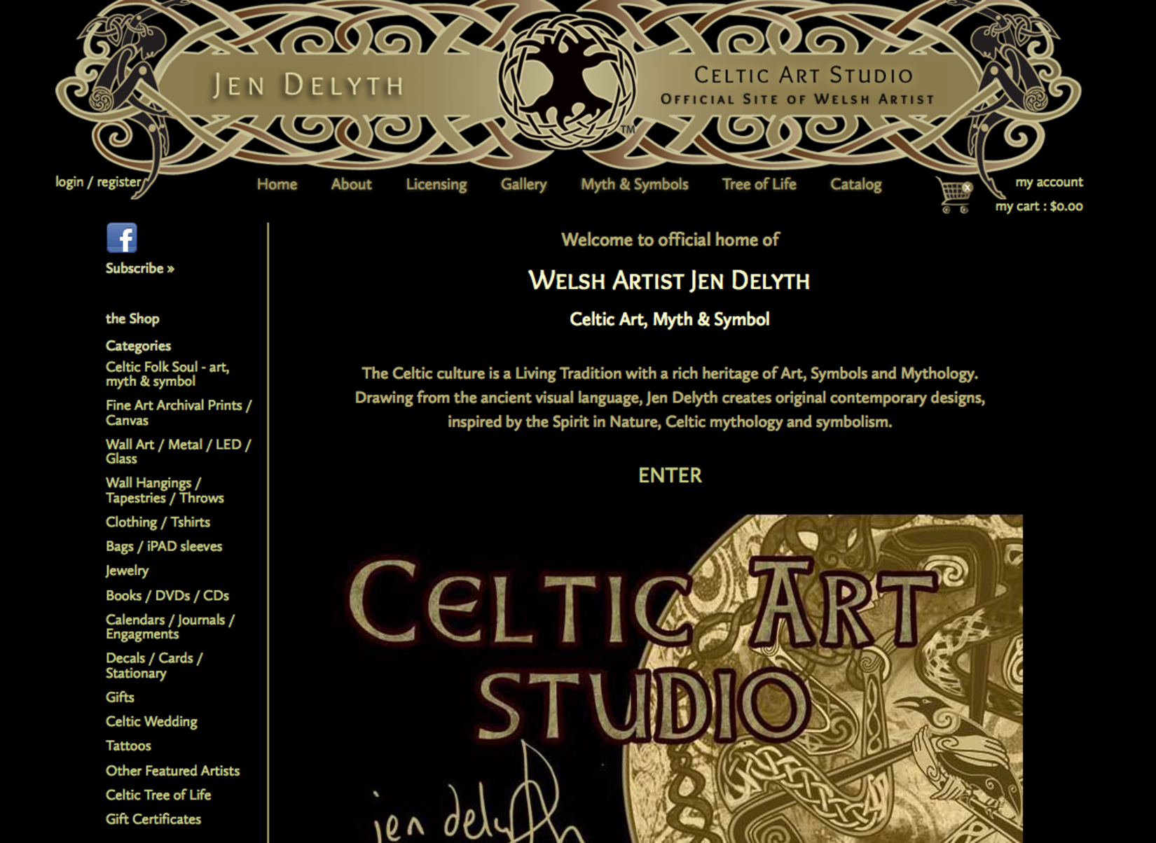 celtic art studio