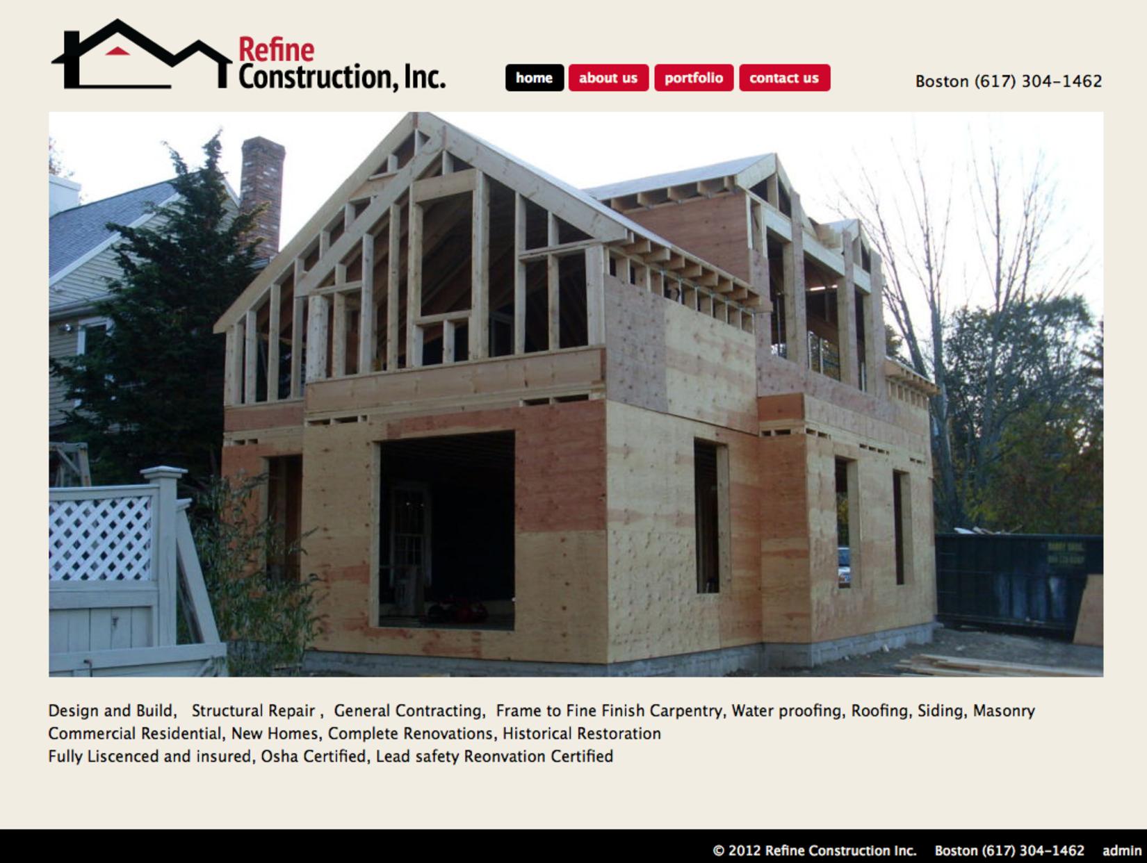 Refine Construction Inc.