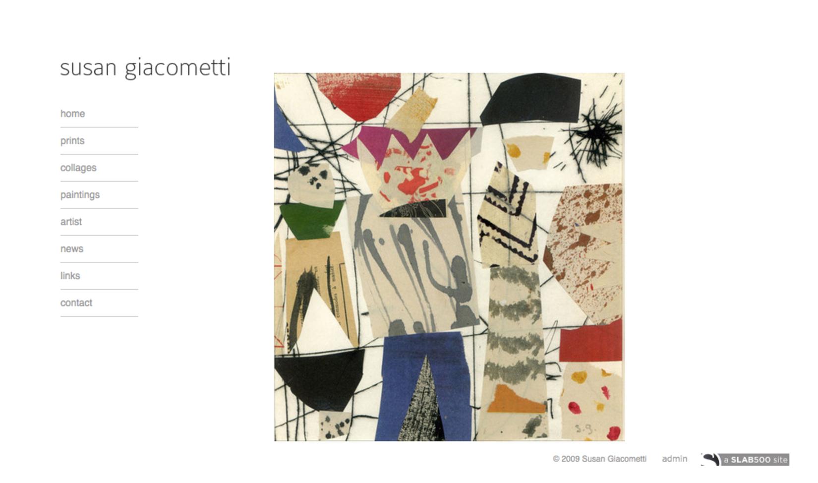 Susan Giacometti, PrintmakerPainter