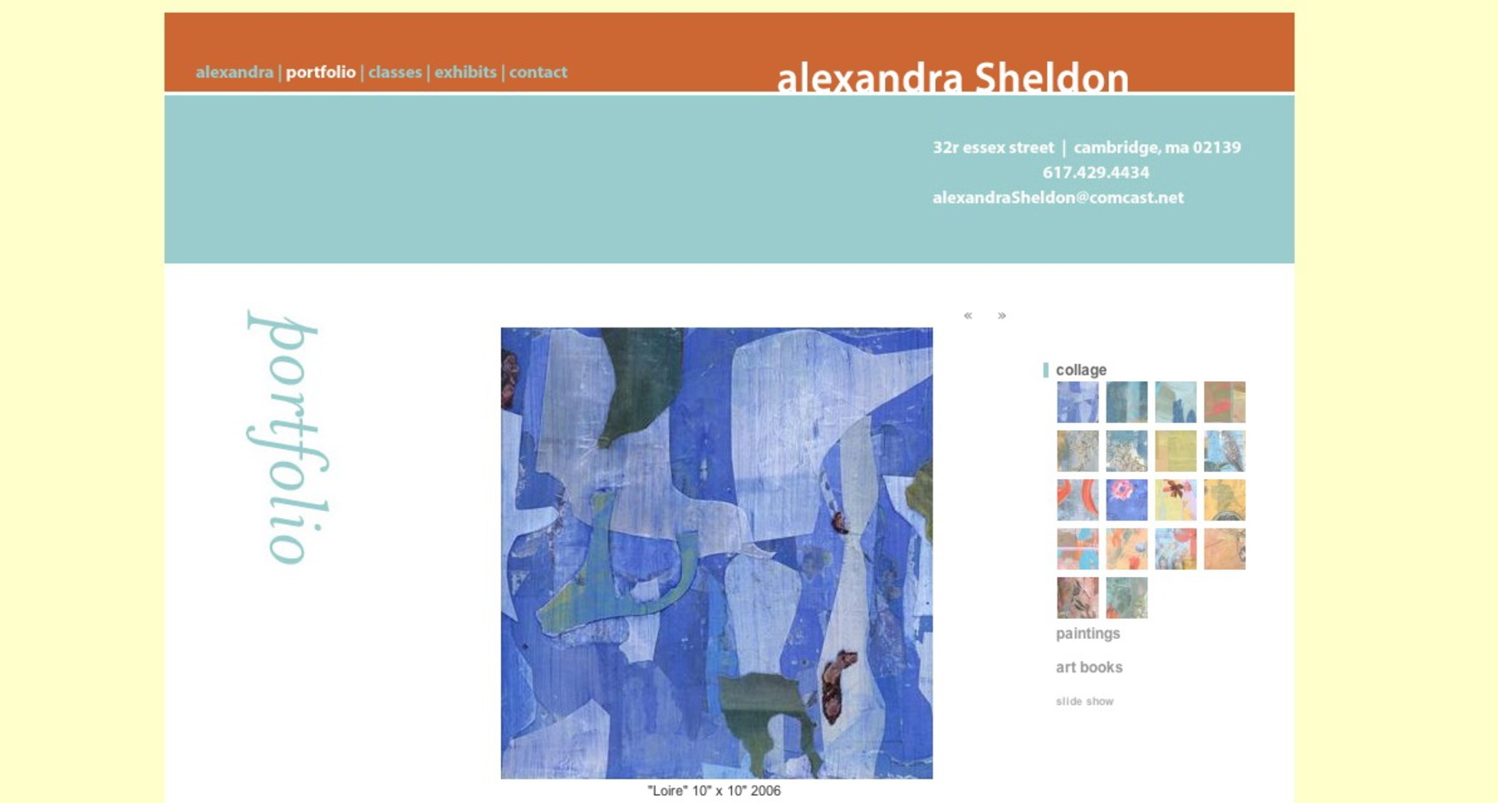 Alexandra Sheldon, PainterArtist