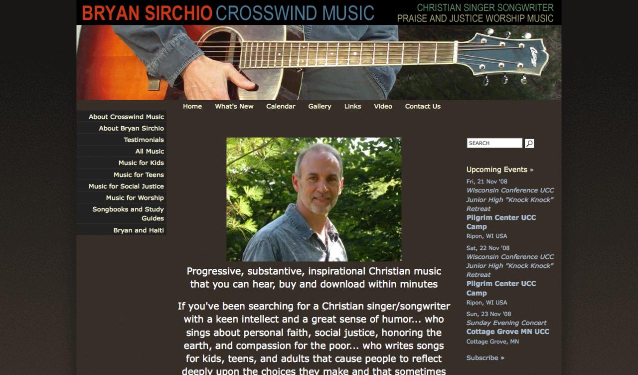 Bryan Sirchio - Crosswind Music