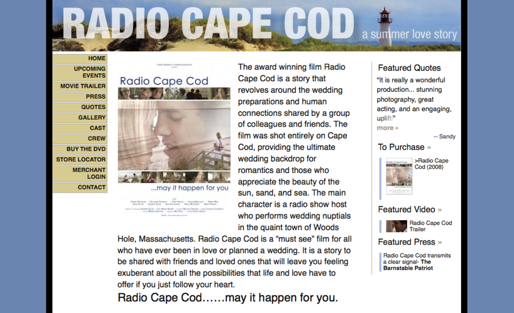 Radio Cape Cod DVD