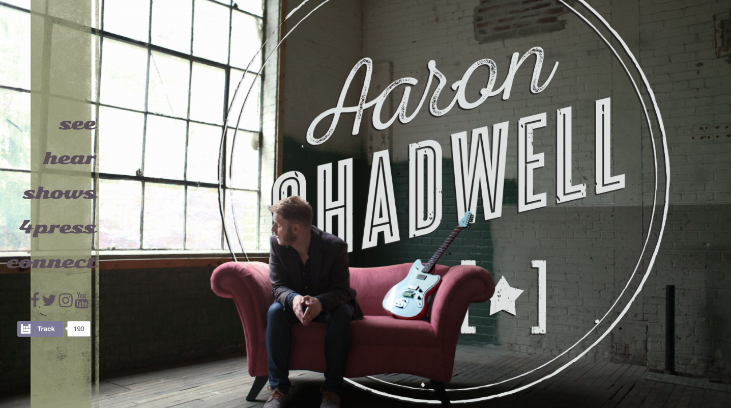 Aaron Shadwell homepage