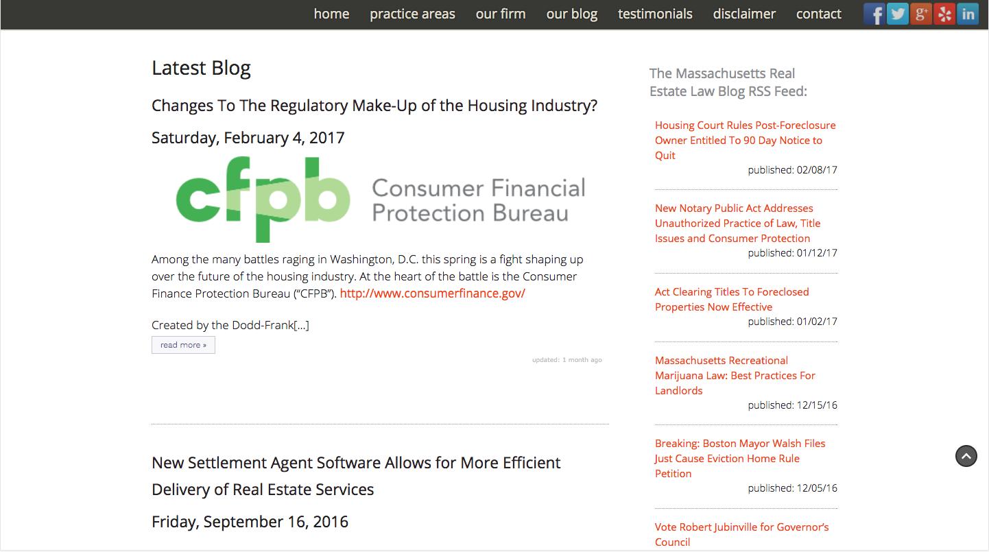 Homepage scroll 1