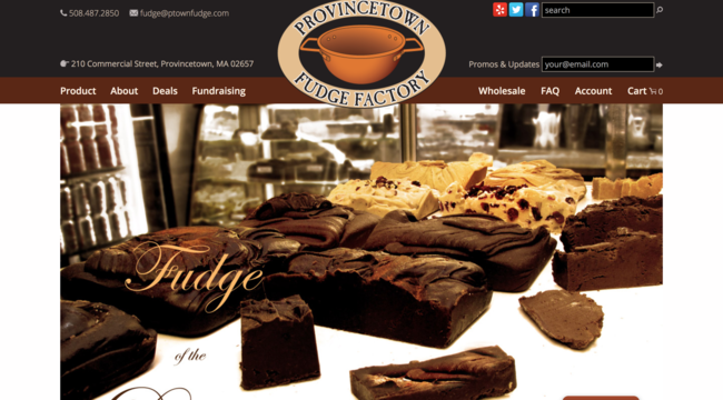 Provincetown Fudge Factory