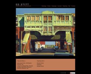 Ed Stitt  Paintings and Drawings