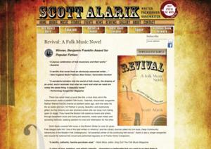 Scott Alarik Writer